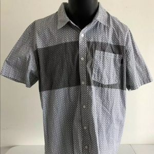 Mens Oakley Short Sleeve Button Up XXL